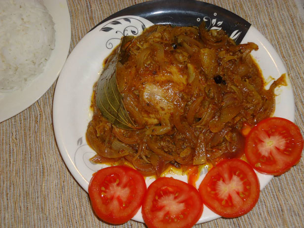 Eid Special Chicken Do Pyaaza